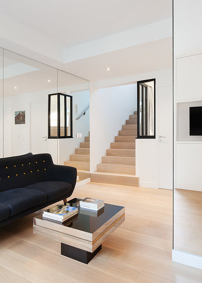 Contemporain Escalier by CDA DESIGN