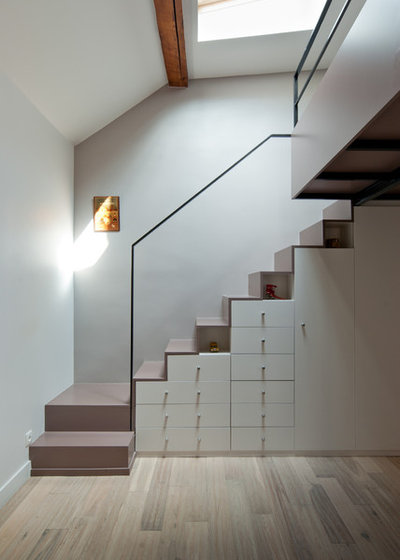 Contemporain Escalier by Yves Mahieu - SPOUTNIK architecture