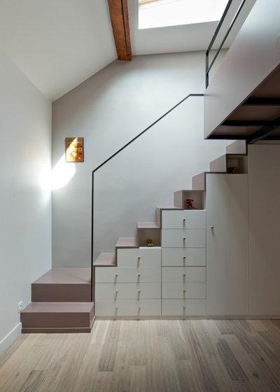 Contemporain Escalier by Yves Mahieu - SPOUTNIK architecture