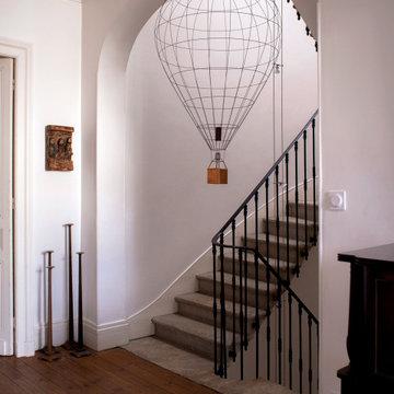 Architecture intérieure, la maison d'un collectionneur