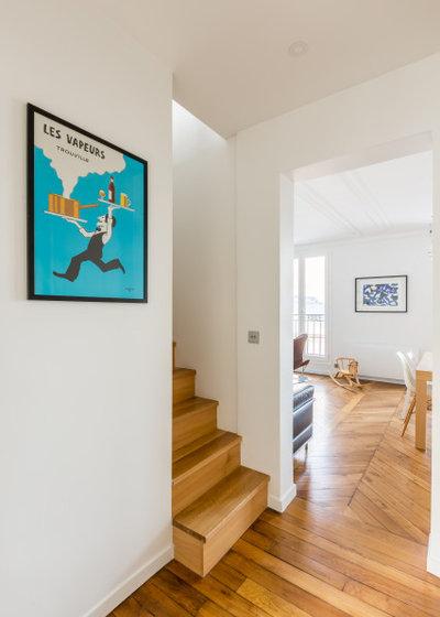 Contemporain Escalier by Mon Plan d'Appart