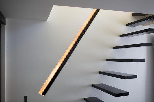 Contemporain Escalier by Agnès & Agnès architecture
