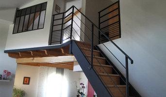 Chambre en mezzanine - réalisation