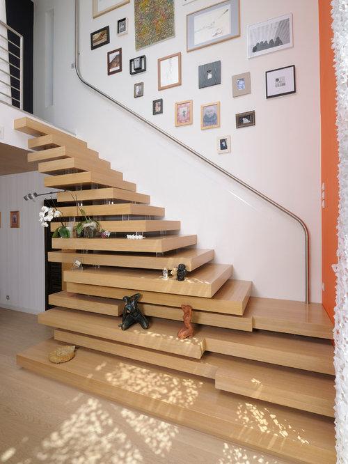 Super Photos et idées déco d'escaliers flottants VX69