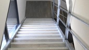 Création d'escaliers contemporains