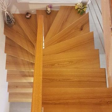 Création sur mesure d'un escalier