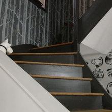 Déco atypique pour une cage d\'escalier - Contemporain ...