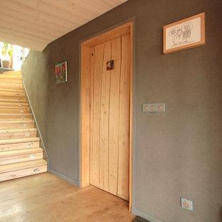 Réalisation d'un escalier craftsman.
