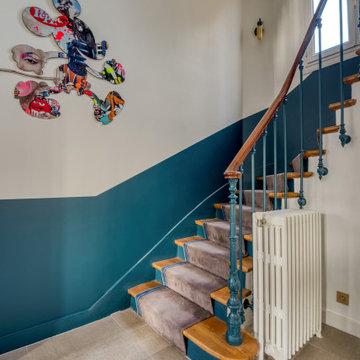 Éclectique Escalier