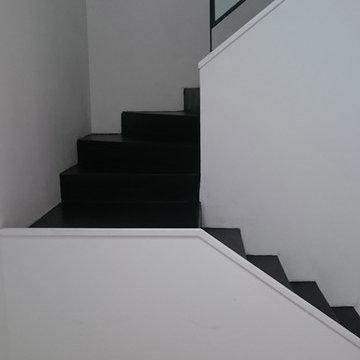 Escalier beton cire Rennes