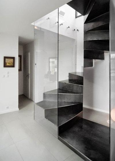 Optimisez l 39 espace gr ce un escalier en colima on - Amenager un dessous d escalier ...