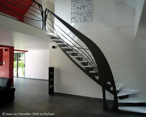 Escalier Design Mobilier Contemporain Art Nouveau