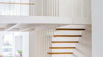 Escalier et rambarde sur mesure UP