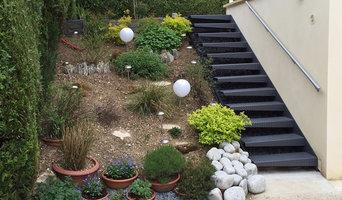 escalier exterieur jardin