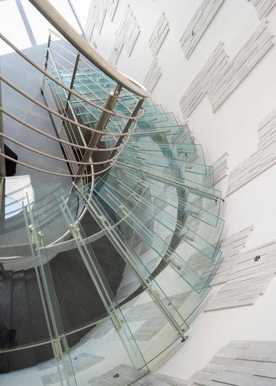 Contemporain Escalier by inoxdesign.fr, Garde-Corps et Escaliers Design