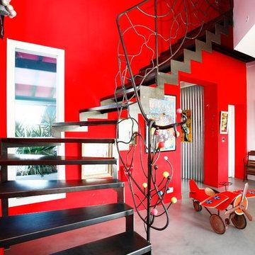 Escalier LIMON CREMAILLERE