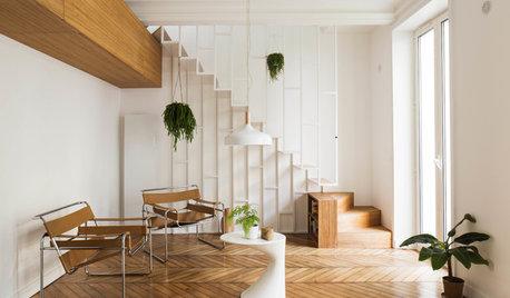 18 escaliers bi-matières sortent le grand jeu