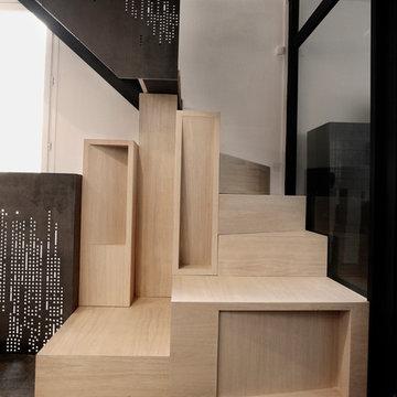 escalier sculptural - SCULPTURAL STAIRCASE