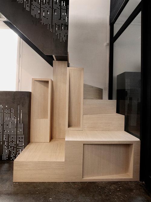 photos et id es d co d 39 escaliers. Black Bedroom Furniture Sets. Home Design Ideas