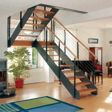 Escalier style industriel Loft