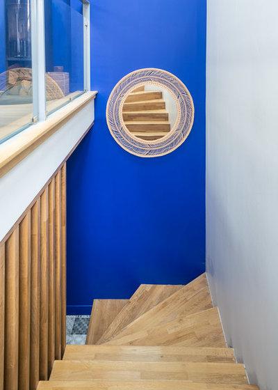 Moderne Escalier by SOULSENS architecture intérieure