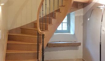 Escaliers débillardés