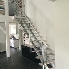 Vente et pose escaliers haut de gamme vufflens la ville ch 1302 - Escalier colimacon aluminium ...