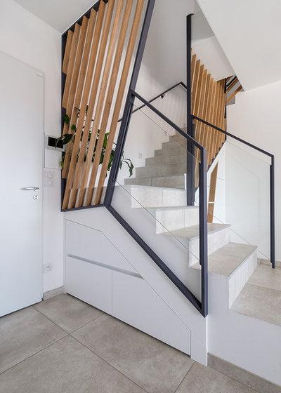 Современный Лестница by Guillaume Bouvet - Artisan menuisier designer