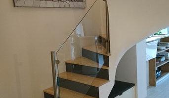 habillage escalier, séparation de pièce