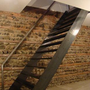 Inspiration för en industriell trappa