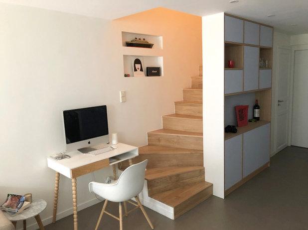 Scandinavian Staircase by atelier eem