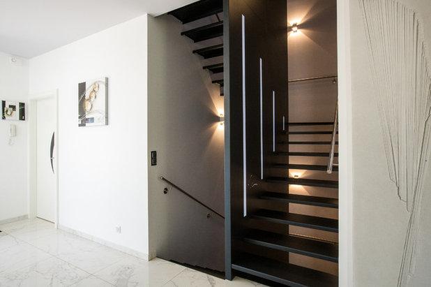 Contemporain Escalier by A3Design