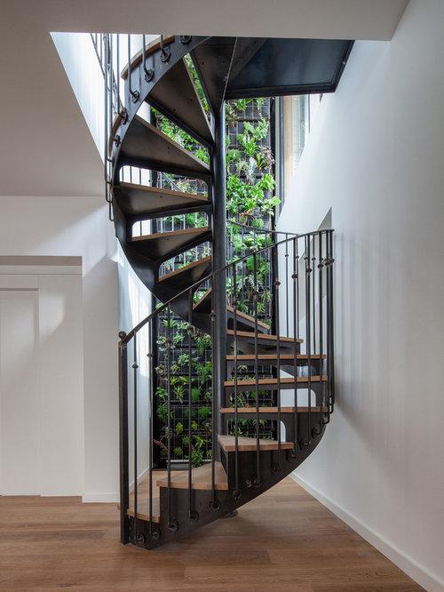 photos et id es d co d 39 escaliers claire voie et h lico daux. Black Bedroom Furniture Sets. Home Design Ideas
