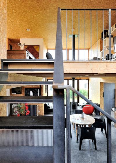 Industriel Escalier by Fabien Perret et associés architecte