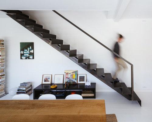 photos et id es d co d 39 escaliers contemporains. Black Bedroom Furniture Sets. Home Design Ideas