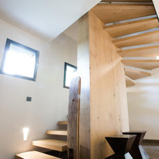 Contemporary Staircase by Agence Michel AMAR