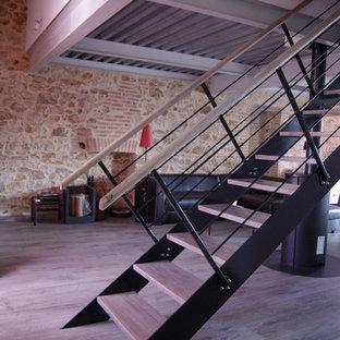 Maison de ville, rénovation et création d'étage