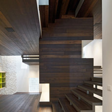 Modern Staircase by Moussafir Architectes
