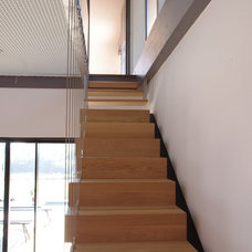 Contemporary Staircase by François Primault architecte
