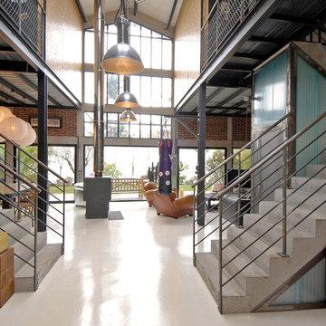 Maison Loft Transformation d'une usine en loft
