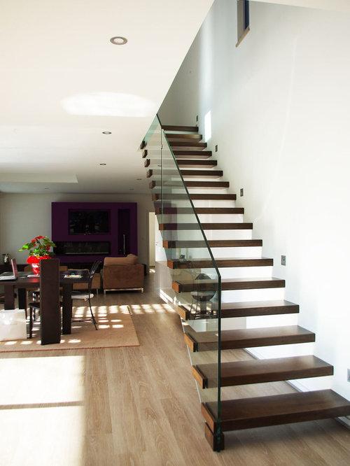 photos et id es d co d 39 escaliers modernes. Black Bedroom Furniture Sets. Home Design Ideas