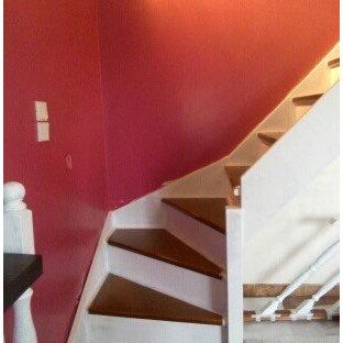Ejemplo de escalera campestre grande