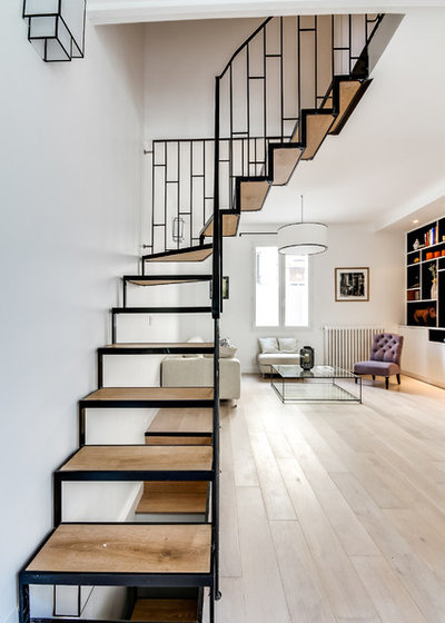 Scandinavian Staircase by Studio Elodie Cottin