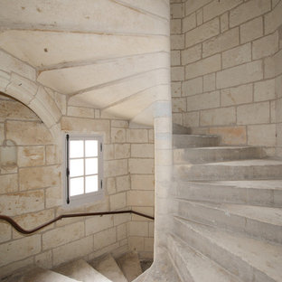 Aménagement d'un escalier craftsman.