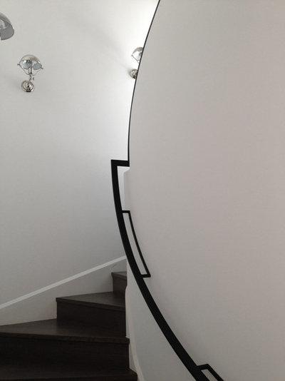 Moderne Escalier by Labro & Davis