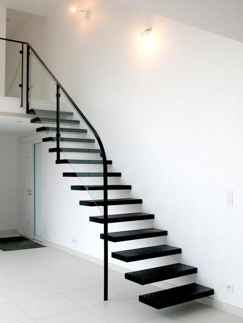 Photos et idées déco d\'escaliers contemporains Angers