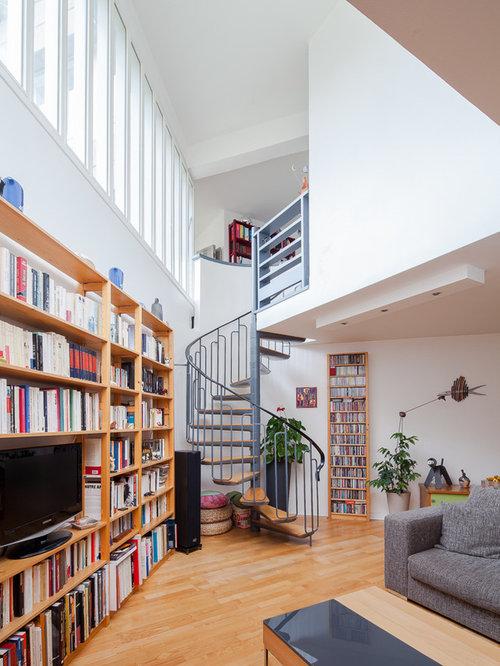 Photos et idées déco d\'escaliers sans contremarche