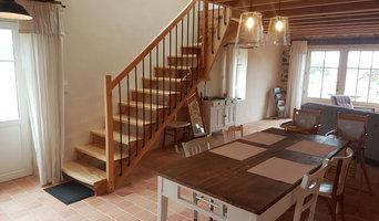 Réalisation d'un escalier sur mesure