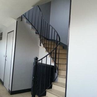 Réfection de la cage d'escalier