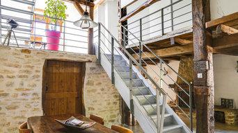 Remplacement des garde corps de l'escalier et des paliers